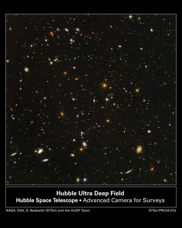 10.000 galaxias en un grano de azúcar.