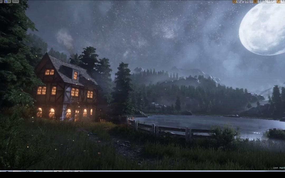 Lago de noche – Unreal Engine 4 – YouTube