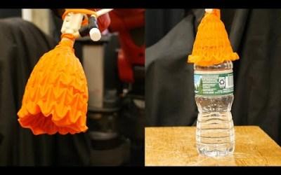 Garra origami para robots