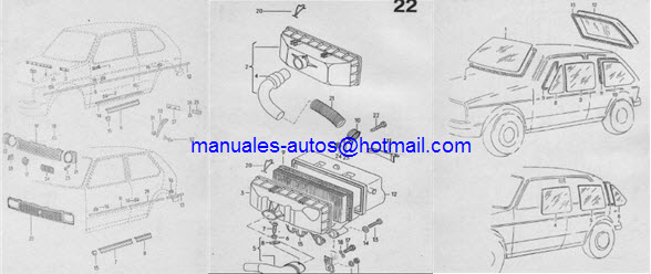 Manual de Reparacion Vw Caribe Atlantic Motor 1500 y 1600