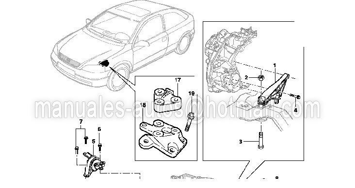 Manual De Reparación Chevrolet Zafira 2001 2002 2003 2004