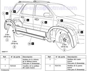Manual De Reparacion Ford Escape 2005 2006 2007 2008 2009