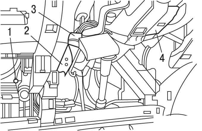 Manual.CountryAuto.ru :: Peugeot :: 307 :: Замена замка
