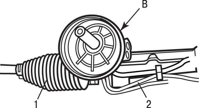 Manual.CountryAuto.ru :: Peugeot :: 307 :: Замена рулевого