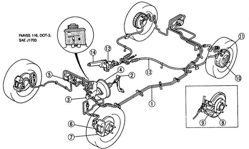 Manual.CountryAuto.ru :: Mazda :: 323 :: Тормозная система