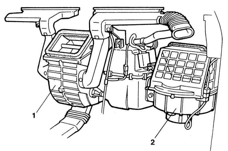 Manual.CountryAuto.ru :: Mazda :: 323 :: Отопитель