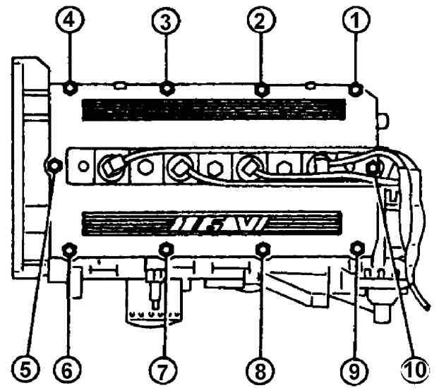 Manual.CountryAuto.ru :: Peugeot :: 405 :: Крышка головки