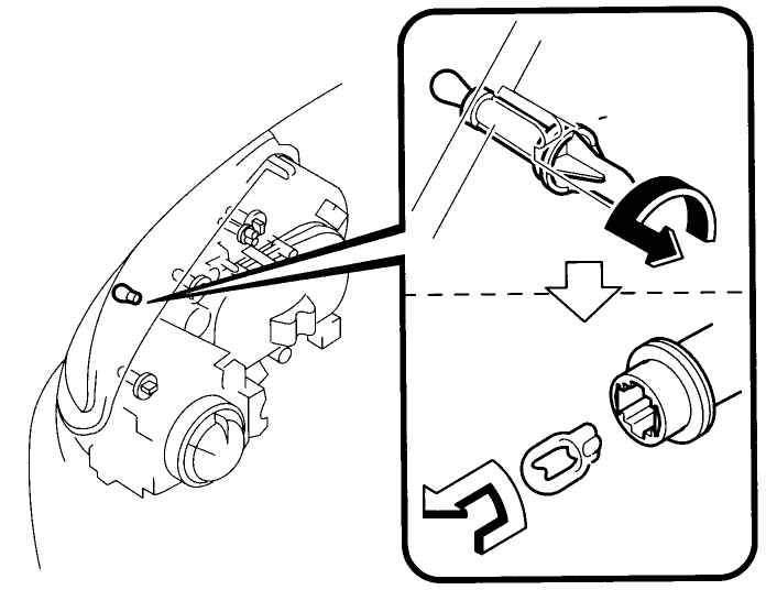 Manual.CountryAuto.ru :: Mazda :: 6 :: Замена ламп