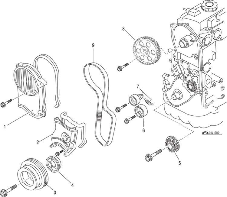 Manual.CountryAuto.ru :: Mazda :: 626 / MX-6 :: Двигатель