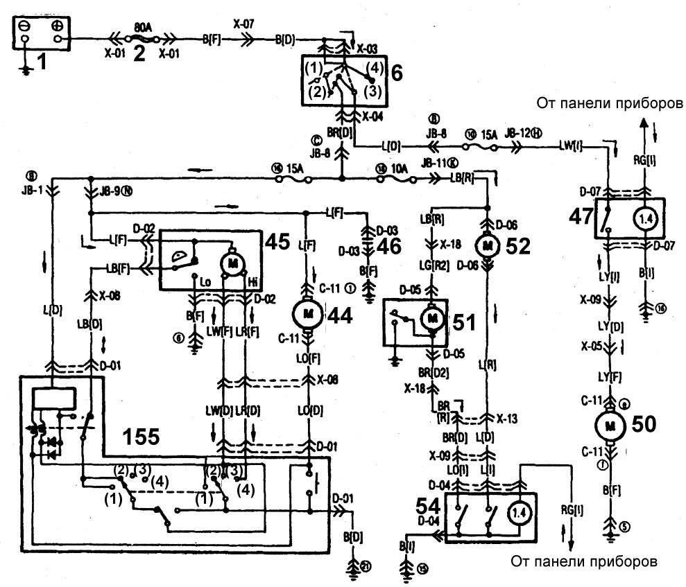Mx в электрических схемах » Схемы систем