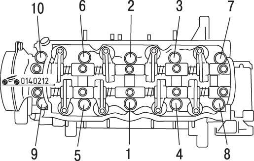 Регулировка зазоров клапанов и проверка момента затяжки