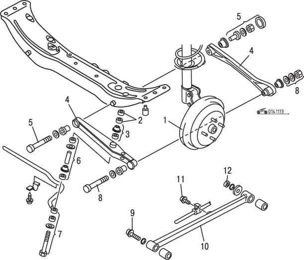 Manual.CountryAuto.ru :: Mazda :: 626 / MX-6 :: Задняя