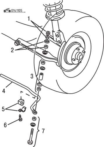 Manual.CountryAuto.ru :: Mazda :: 626 / MX-6 :: Передняя
