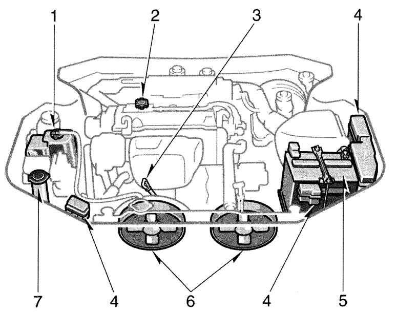 Manual.CountryAuto.ru :: Toyota :: Camry XV20 :: Двигатель