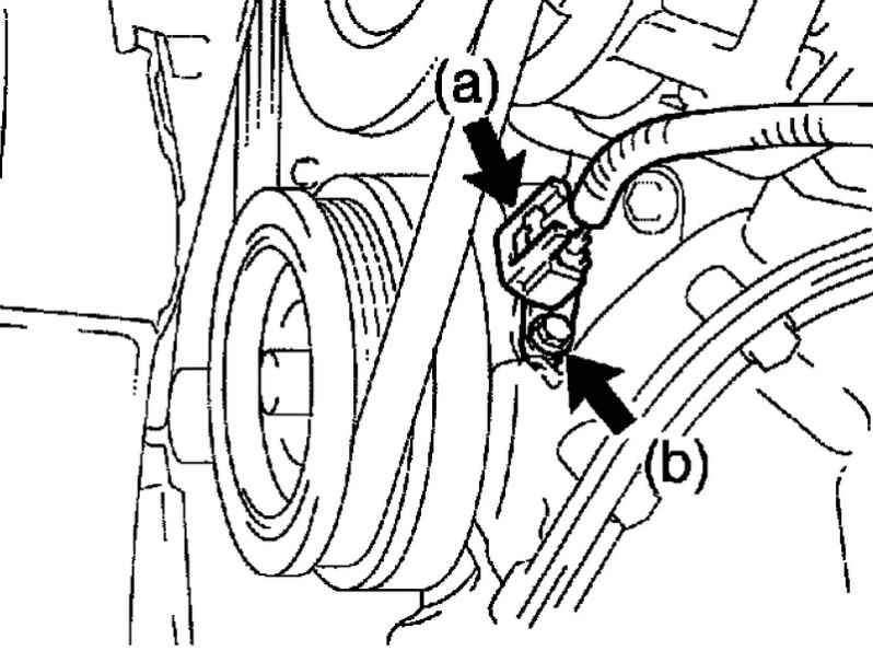 Manual.CountryAuto.ru :: Toyota :: Corolla Verso :: Замена датчика угла поворота