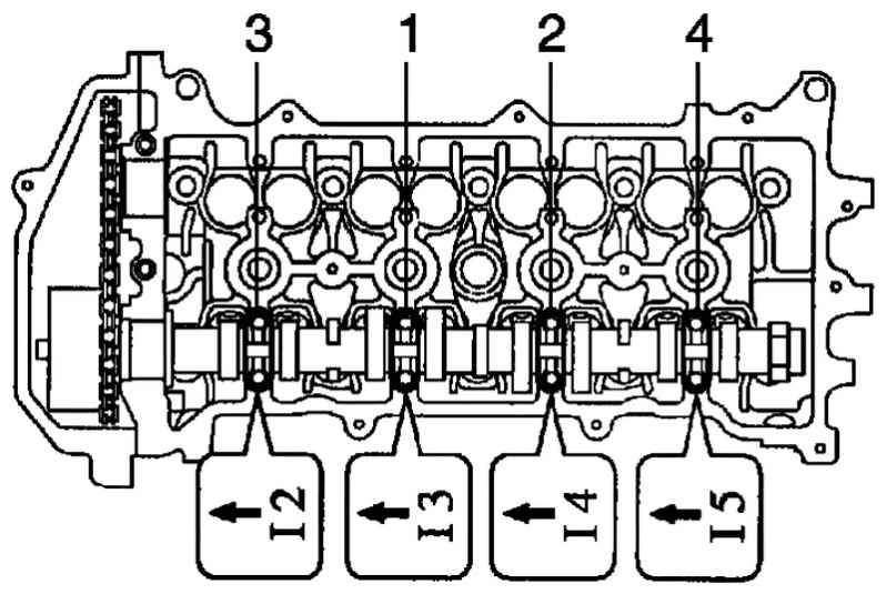 Снятие и установка распределительных валов Toyota