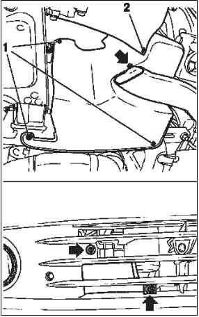 Снятие и установка генератора (двигатель Z18XE, с
