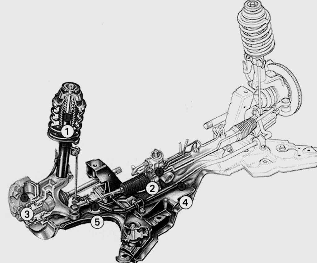 Manual.CountryAuto.ru :: Ford :: Fiesta :: Передняя подвеска