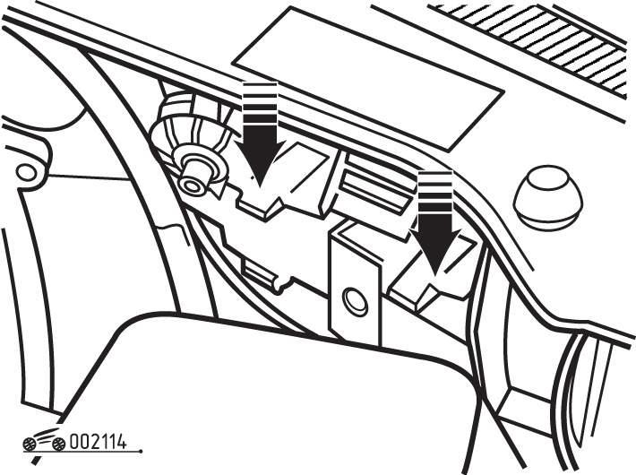 Manual.CountryAuto.ru :: Volkswagen :: Golf III :: Замена ламп