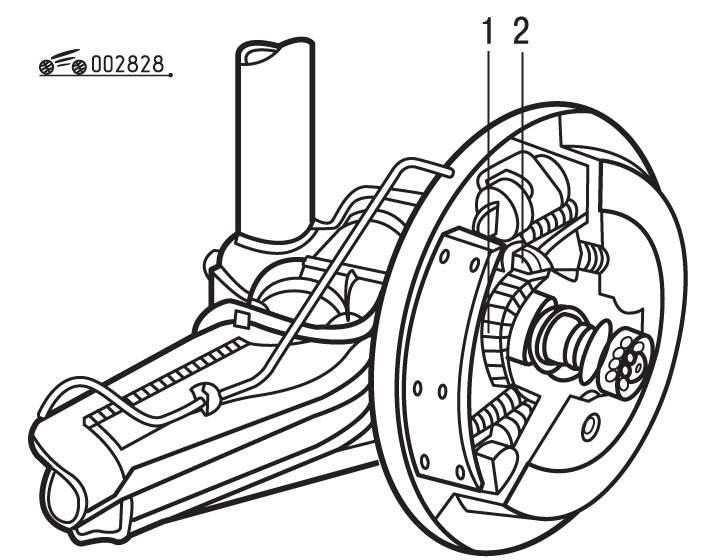 Manual.CountryAuto.ru :: Volkswagen :: Golf III :: Система ABS (антиблокировочная тормозная система)