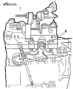Регулировки топливного насоса высокого давления Volkswagen
