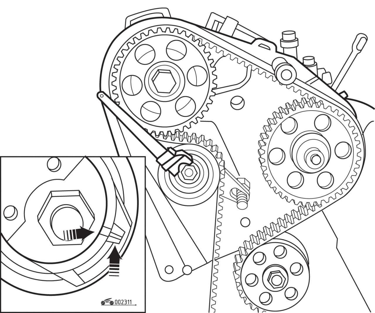 Manual.CountryAuto.ru :: Volkswagen :: Golf III :: Ремень