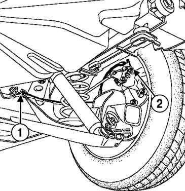 Снятие и установка жесткого тормозного трубопровода