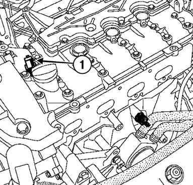 Работа и управление фазорегулятором (двигатель F4R