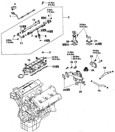 Manual.CountryAuto.ru :: Mitsubishi :: Pajero :: Впускной