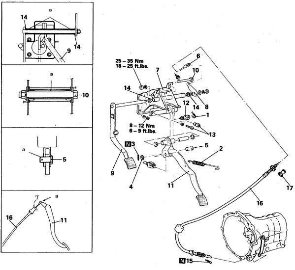 Manual.CountryAuto.ru :: Mitsubishi :: Pajero :: Педаль