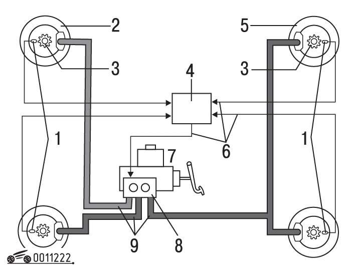 Фгвш b4 электрические схема » Схемы систем