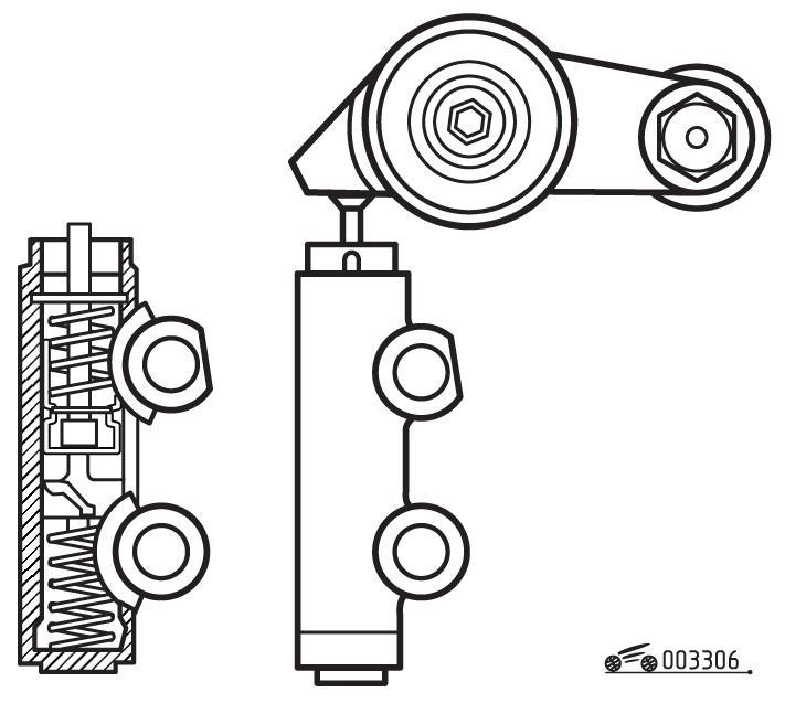 Автоматический натяжитель ремня привода