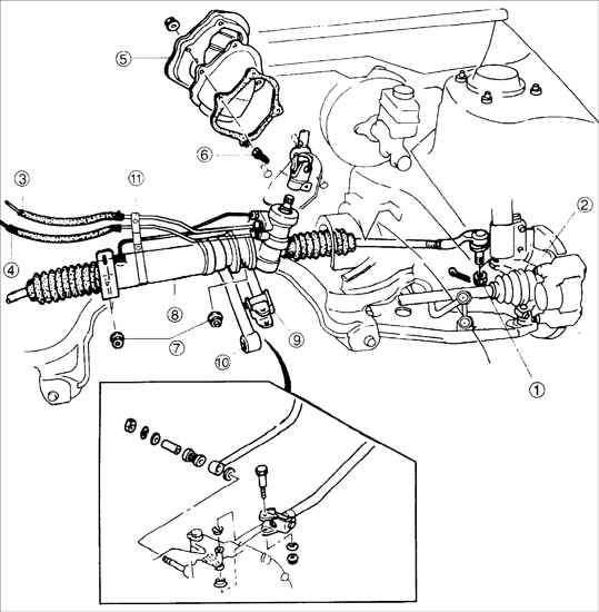 Manual.CountryAuto.ru :: Kia :: Sephia :: Рулевая передача