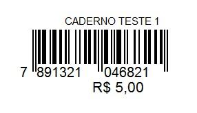Etiquetas Prontas de Código de Barras– FS157