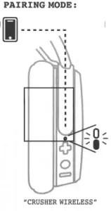 Skullcandy Crusher Wireless User Manual [Pairing, Reset