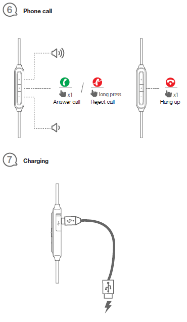 JBL E25BT Bluetooth Headphone User Manual [Pairing, Reset