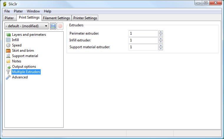 Slic3r Software | REVOLUTION i3