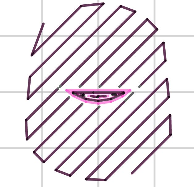 Example of pattern angle rotated 45°.