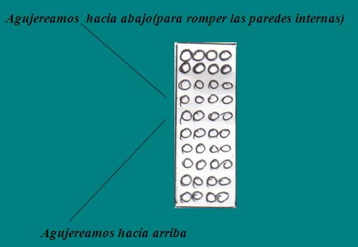 COLOCACION CERRADURAS EN PUERTA DE MADERA: agujereamos arriba y abajo