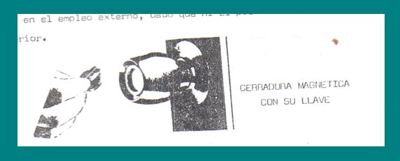 CERRADURAS MAGNETICAS: cerradura magnética con llave