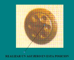 APERTURA DE CAJAS FUERTES O ALTA SEGURIDAD: realizar un agujero en dial