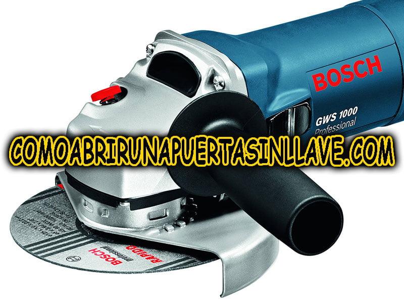 amoladora radial marca bosch manualcerrajero comoabrirunapuertasinllave.com