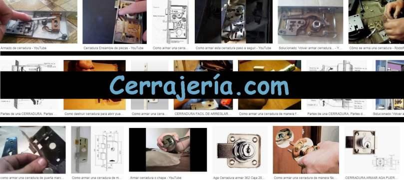 MANUALCERRAJERO.COM - CERRAJERÍA.COM - ARMAR CERRADURA