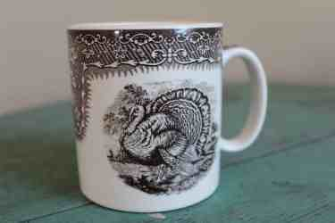 Spode Turkey Mug