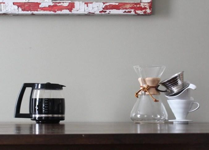 Pour over coffee maker vs. drip