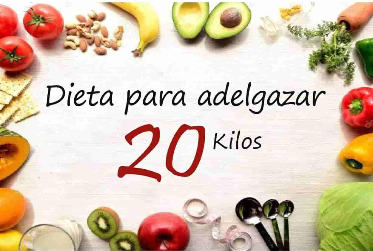 dieta para adelgazar 2 kilos