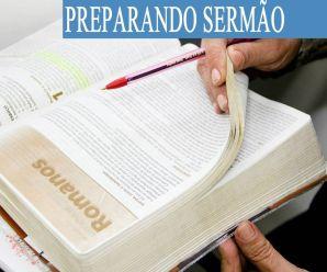Como montar uma pregação