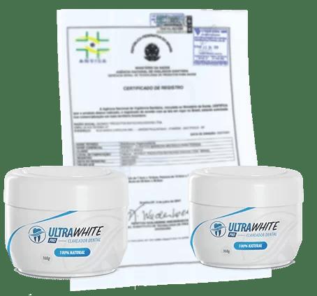Nessa Imagem mostra o certificado de segurança do Ultra White Pro