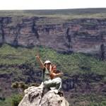 Chapada Diamantina, escalada de um rochedo