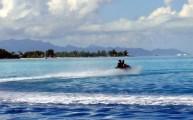 Jet-ski, Tahiti, Polinésia